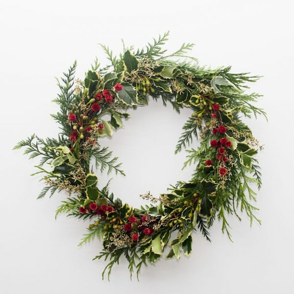 Small Full Christmas Wreath