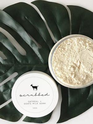 Oatmeal + Goats Milk Bath Soak