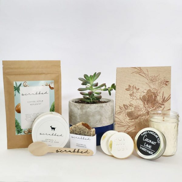 Plant and Pamper - Gift Packs by Pot and Posy delivered across Western Sydney