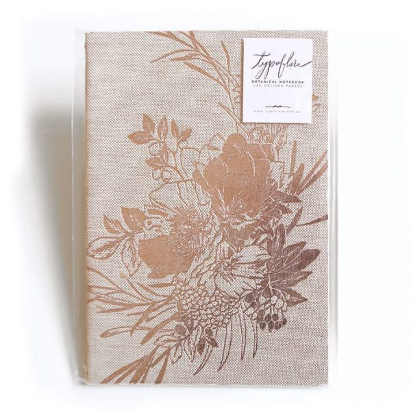 Poppies Signature Notebook