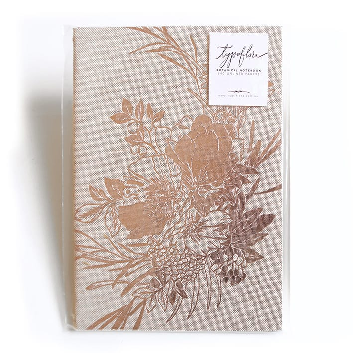 Poppies Signature Notebook