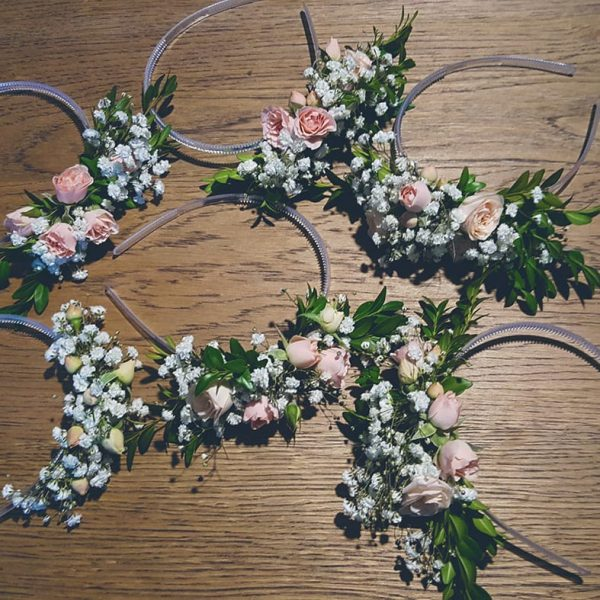 Delicate Full Flower Crown