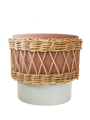 Daya Ceramic and Cane Planter