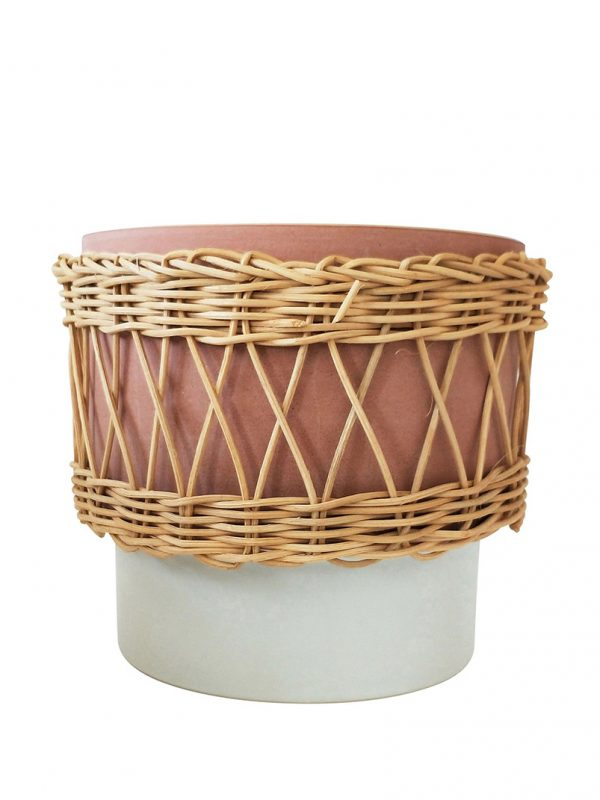 Daya Ceramic and Cane Planter
