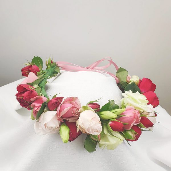 Flower Crown of Roses