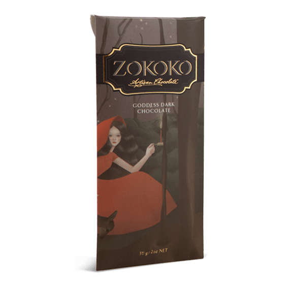 Zokoko Goddess Dark Chocolate