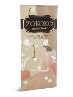 Zokoko Goddess Dark Chocolate with Coffee
