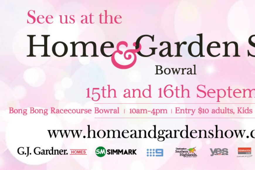 See Pot and Posy at the Home and Garden Show Bowral