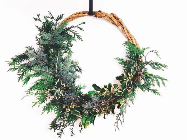 Christmas Wreath - Pot and Posy Wreath Workshop