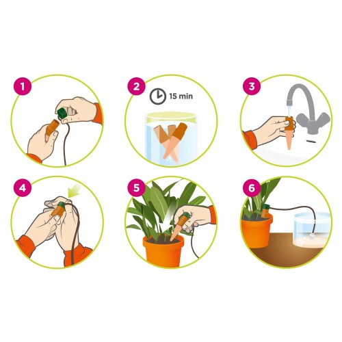 Blumat Automatic Plant Waterer Installation Instructions