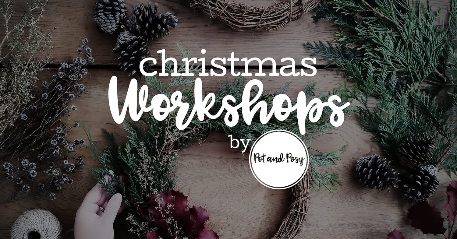 Christmas Workshops by Pot and Posy