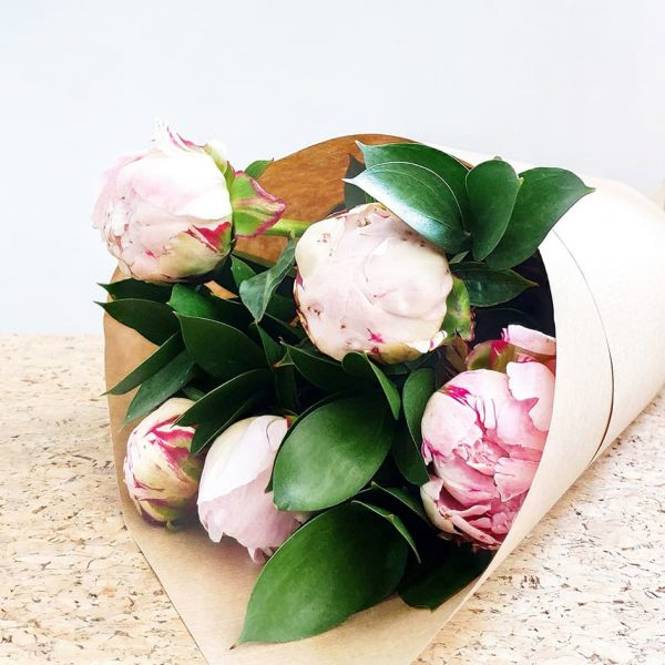 Peonies by Pot and Posy