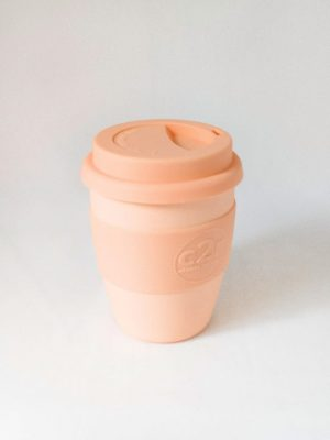 C2R Bamboo Eco Cup • Peach