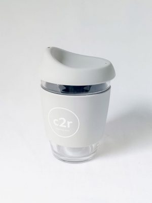 C2R Glass Eco Cup • Grey