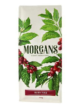 Mogans Craft Roasters Ruby Fire Blend Coffee